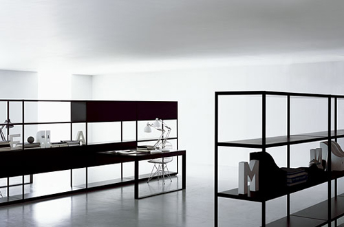 Black and White Minimalist Furniture Design