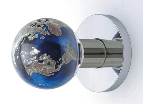 Blue Glass Door Knob Design Ideas