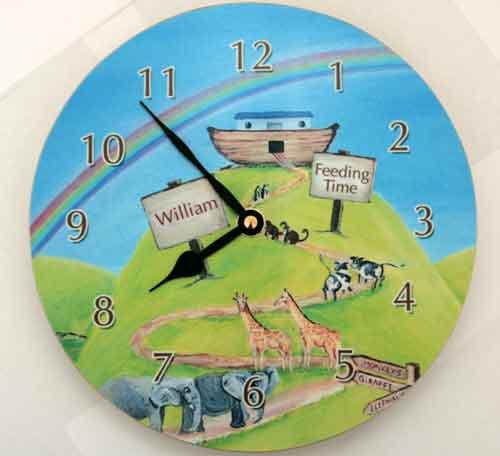 Child Clock Ideas