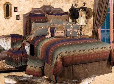 Cowboy Southwestern Bedding Design