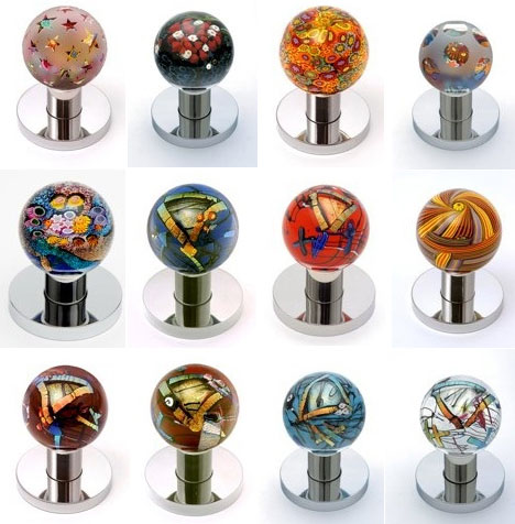Glass Door Knob Design