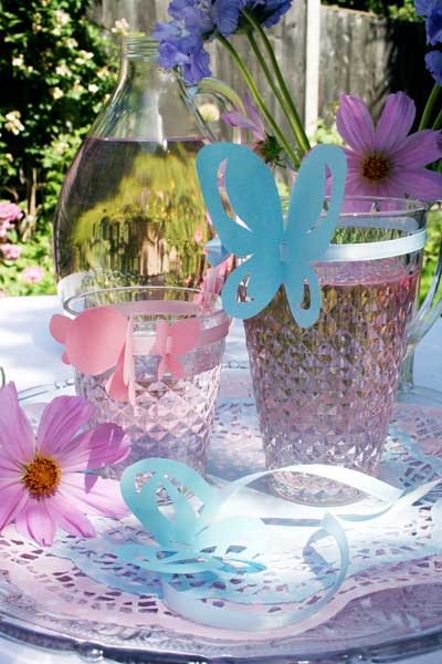 Glassware Set Decoration