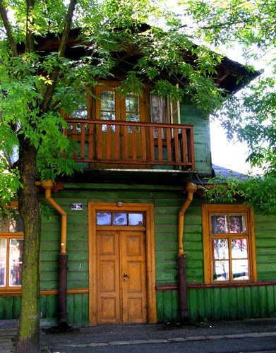 Green Paint House