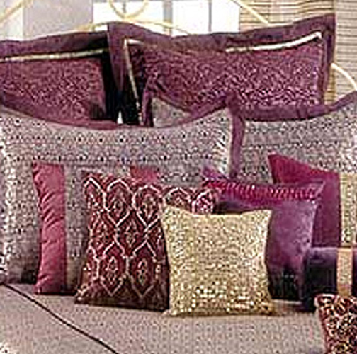 Indian Cushion Cover Decoration