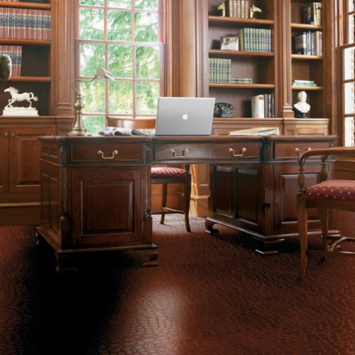 Leather Flooring Design