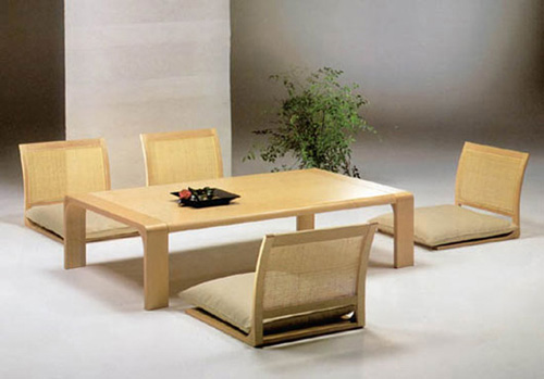 Low Japanese Dining Furniture