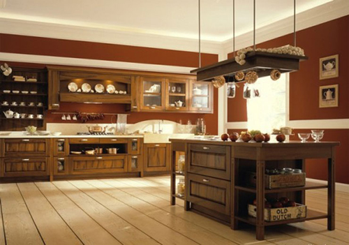 Old and New Kitchen Design Ideas