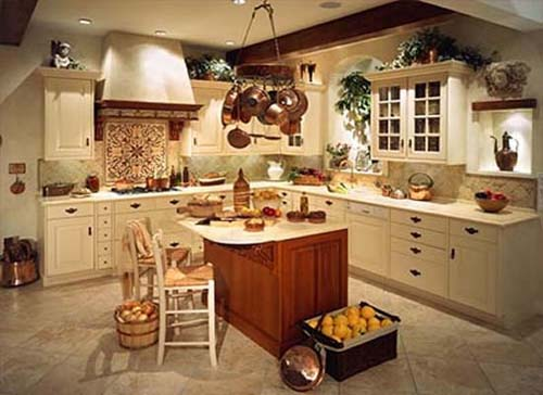 Old and New Kitchen Design