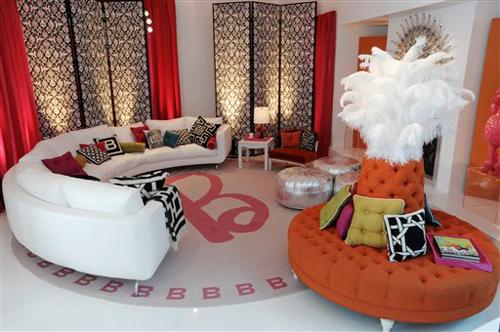 Simple Circular Sofa Design