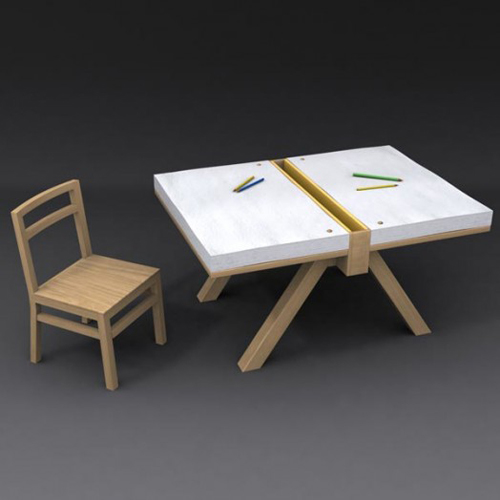 Simple Kids Drawing Table