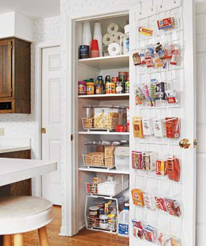 Simple Kitchen Pantry Design
