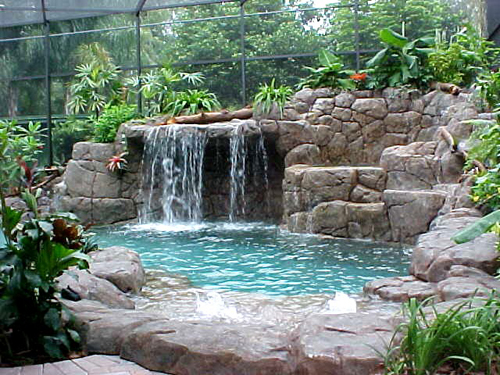 Spa Swimming Pool Design