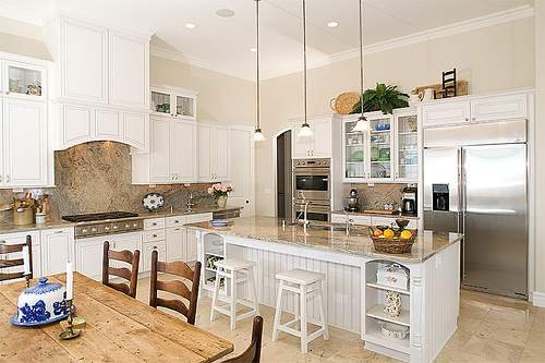 White Old and New Kitchen Design Ideas