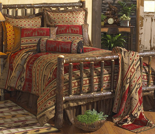 adirondack Rustic Bedding Design