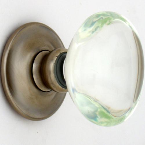 oval Glass Door Knob Design