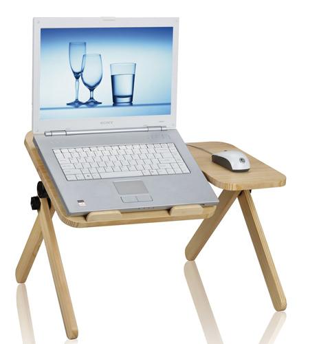 Solid Wood Laptop Desk