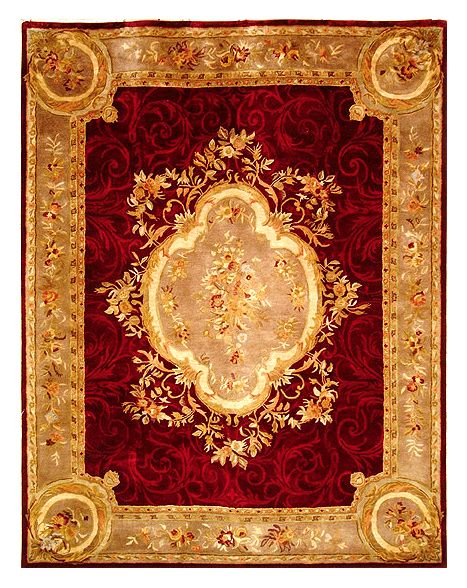 Early Victorian Style Rug design