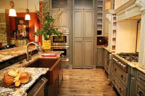 Mediterranean Orange Kitchen Ideas