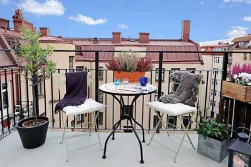 Minimalist Balcony Furniture