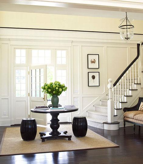 Octagon Entryway Ideas