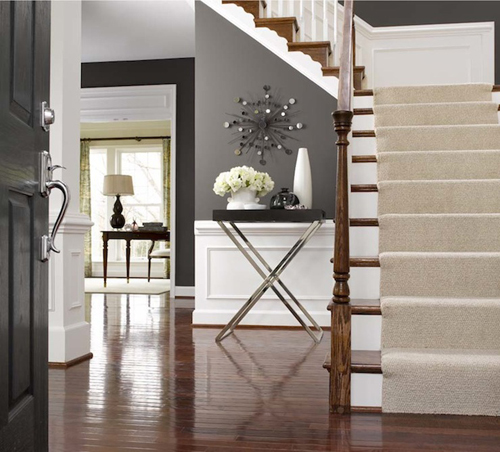 Octagon Entryway Design