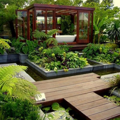 Garden Style Bathroom ideas