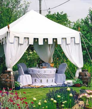 Tent Decoration