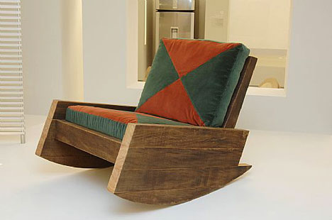Exotic Lumber Chair