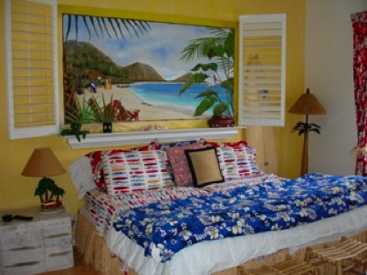 Hawaiian Theme for Bedroom