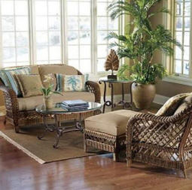 Hawaiian Theme with rattan