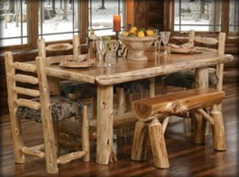 Cabin Furniture for Dining Room