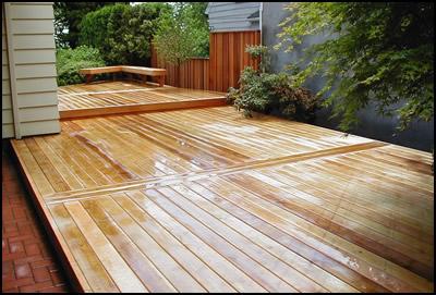 Cedar Decking Concept