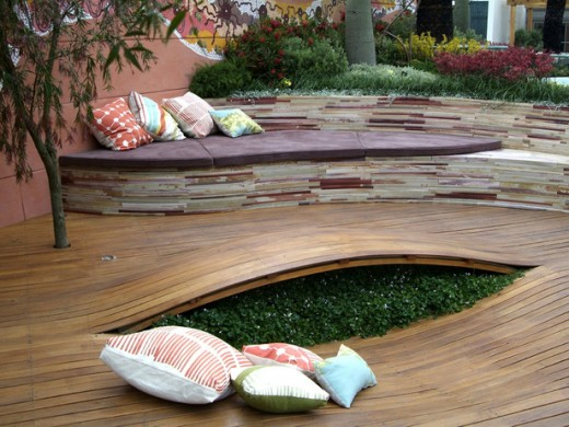 Creative Patio in Modern Look