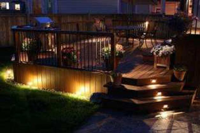 Deck Lighting Concept
