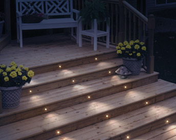 Deck Lighting Installation