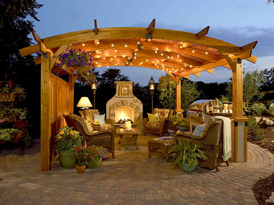 Outdoor Kitchen Look