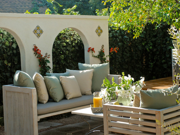 Patio Element with sofa