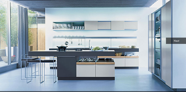 Perfect Kitchen in Blue
