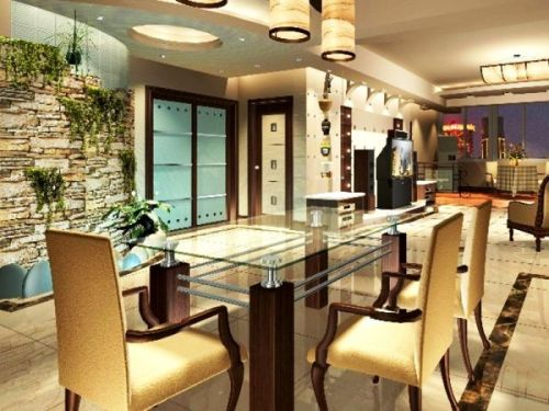 Small Dining Room Concept