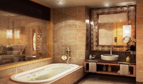 Western Bathroom Look