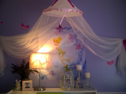 Tinkerbell bedroom decorating ideas