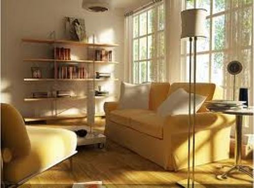 Simple Decorating Ideas For Living Rooms in Yellow