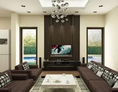 modern design living room ideas in brown