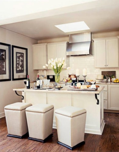 How to Design a Small Kitchen in White