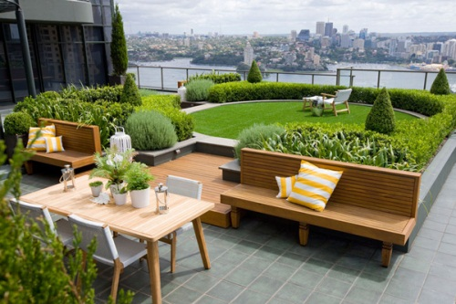 Unique Ideas for Roof Garden Design