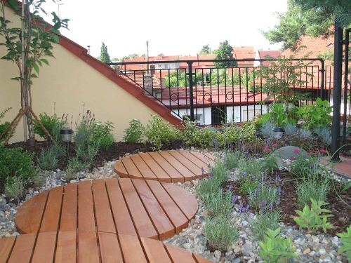 Ideas for Roof Garden