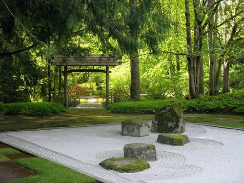 Ideas for a small Zen garden