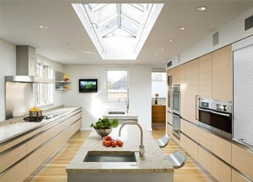 Small Kitchen Contemporary Design