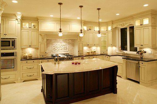 Small Kitchen Lighting Design