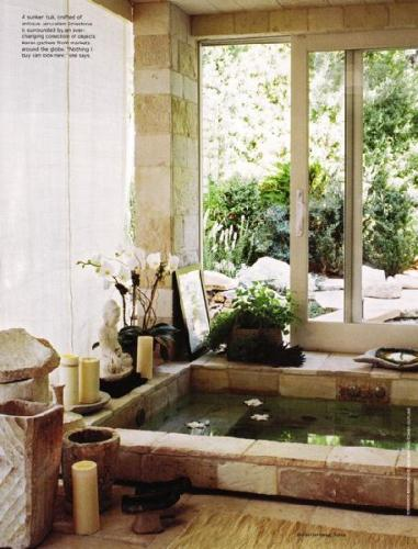 how to design a zen bathroom